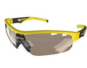 Sporty wrap around sunglasses 3D