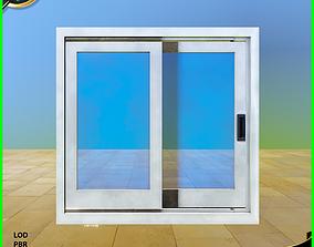 Sliding Door 3D asset