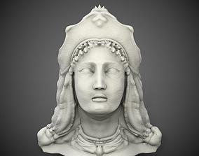 3D model greek nymph head