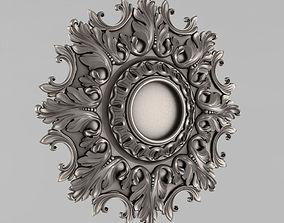 decor 3D print model Decor Rosettes