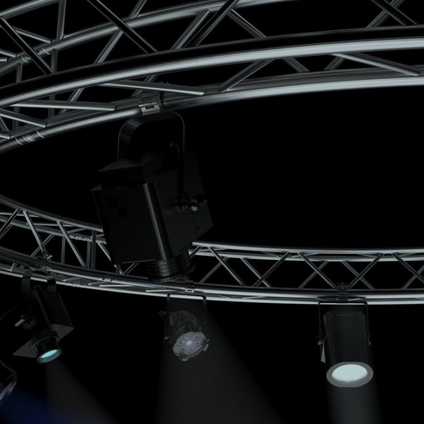 Circle Square Truss 400cm-Stage Lights