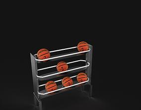 Rack basketball 3D
