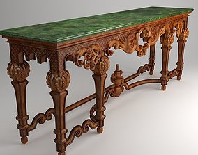 3D Ornate Classical Style Table