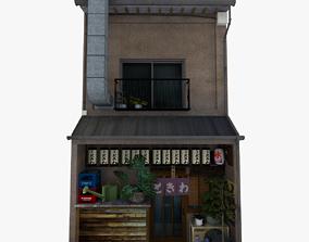 Tokiwa Restaurant 3D asset