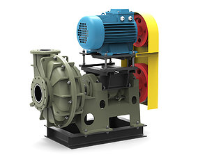 3D Pump centrifugal Gkl2