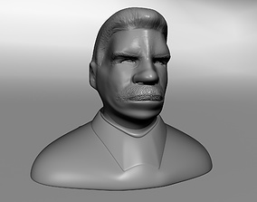 3D printable model Joseph Stalin