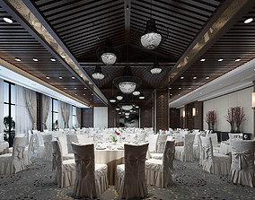 3D model Business Restaurant - Coffee - Banquet 85