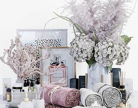 Decorative set pink surprise DECORATION 3D asset