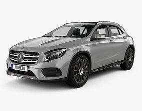 3D model Mercedes-Benz GLA-Class X156 AMG Line 2017