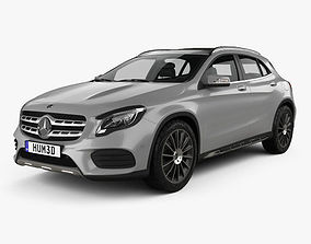 3D model Mercedes-Benz GLA-Class X156 AMG Line 2017