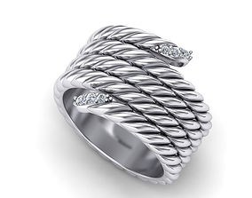 3D print model Rope ring Heavy weight