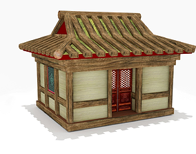 3D model Chinese Old House