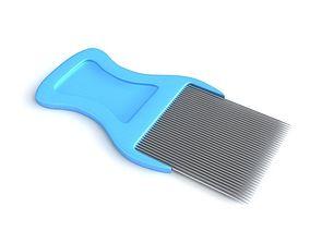 Lice Comb 3D model