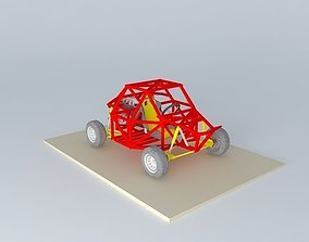 electric-cart 3D Buggy
