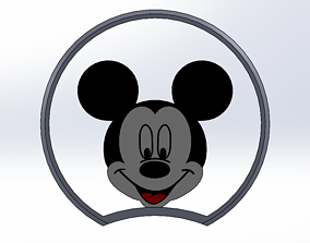 3D print model mickey mouse ear