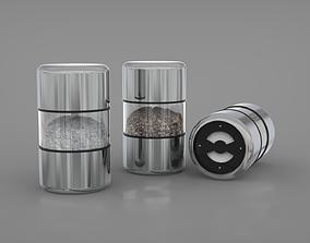 3D model Salt and Pepper Grinders
