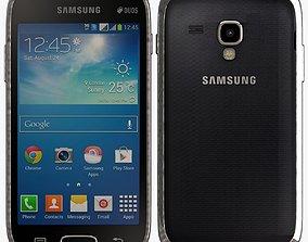 Samsung Galaxy S Duos 2 S7582 Black 3D
