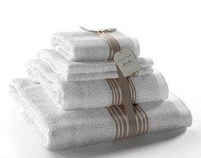 Set of Towels Grand Hotel Lin 3D model