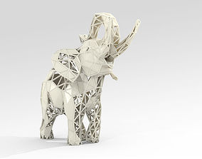 3D printable model Elephant Lattice STL