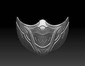 Skarlet mask for cosplay Mortal Kombat MK 3D print 1