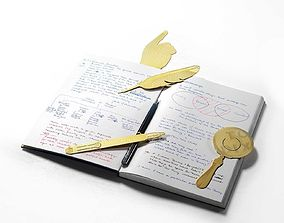 Tool The Bookworm Set notepad 3D