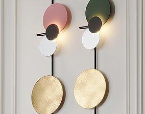 BRITTA Wall light by METTE SCHELDE 3D model