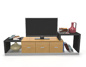 cabinet TV Stand 3D