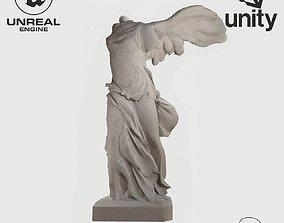 3D asset VR Sculpture Winged Victory Nike of Samothrace