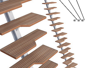 Stairs Yacht 3D model yacht