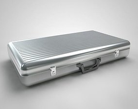 3D model Metal Aluminum Briefcase