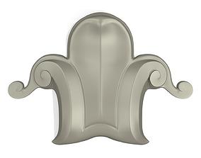 3D printable model motif 001 flower CNC Print