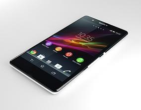 3D Sony Xperia Z White