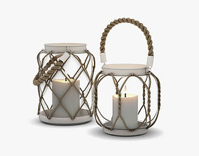 Candle holders DB003147 Dialma Brown 3D model