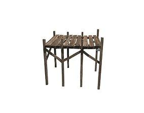 wood harbour 3D asset