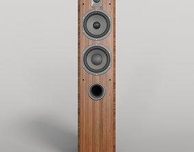 Focal Chorus 716 WALNUT hi-fi 3D model