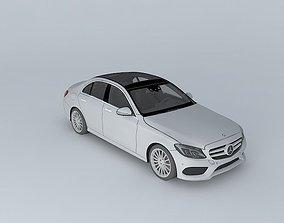 2015 Mercedes-Benz C-Class W205 3D model game-ready