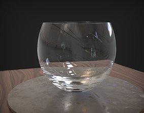 Glass Bowl 3D model VR / AR ready