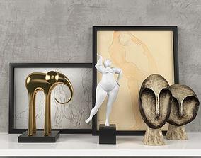 3D model Decorativ set1