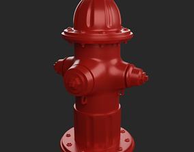 3D printable model Fire hydrant