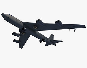 3D model Boeing B-52 Stratofortress
