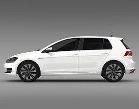 VW Golf BlueMotion Concept Typ 5G 2012 3D