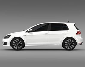 VW Golf BlueMotion Concept Typ 5G 2012 3D