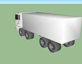 3D model Hyundai HD320 Truck