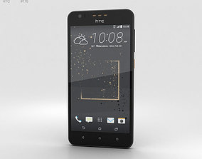 3D HTC Desire 825 Gray Splash