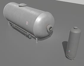 3D model realtime Industrial Tank 4