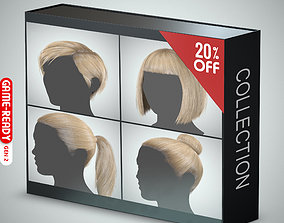3D Hair - Pack A - Gen2