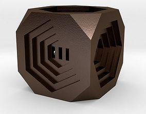 pendant 3D printable model Dice