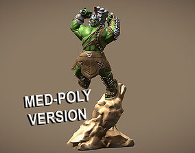 HULK RAGNAROK INSPIRITED 3D MODEL - MED POLY VERSION
