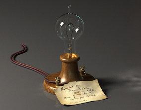 3D model Edison Lamp