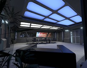 architectural 3D Starship Conference Room B